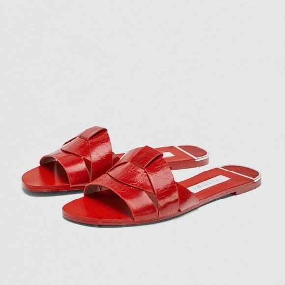 Red Zara Sandals